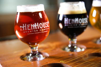 Beers from Henhouse Brewing Company