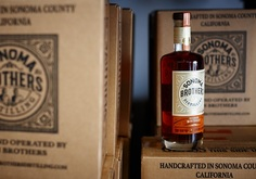 Sonoma Brothers Distilling Bourbon Whiskey botttle
