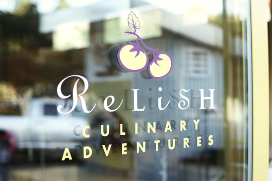 Relish Culinary Adventures logo