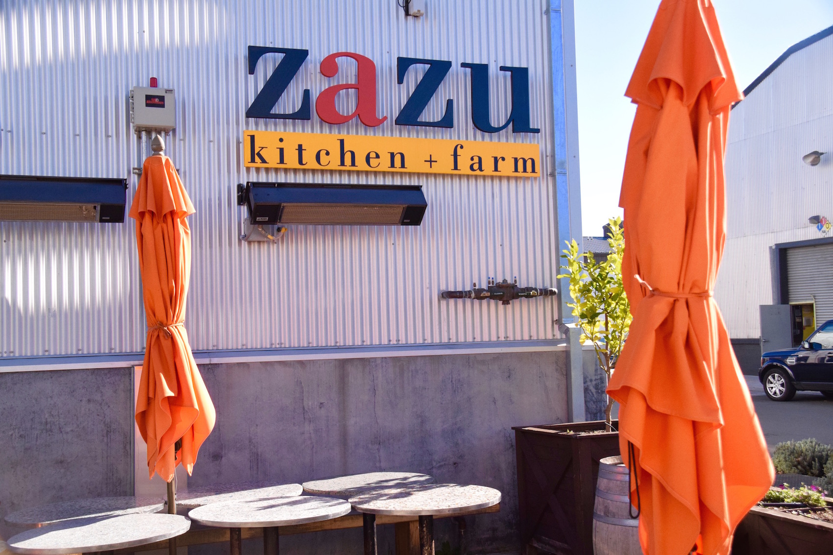 Zazu kitchen sign